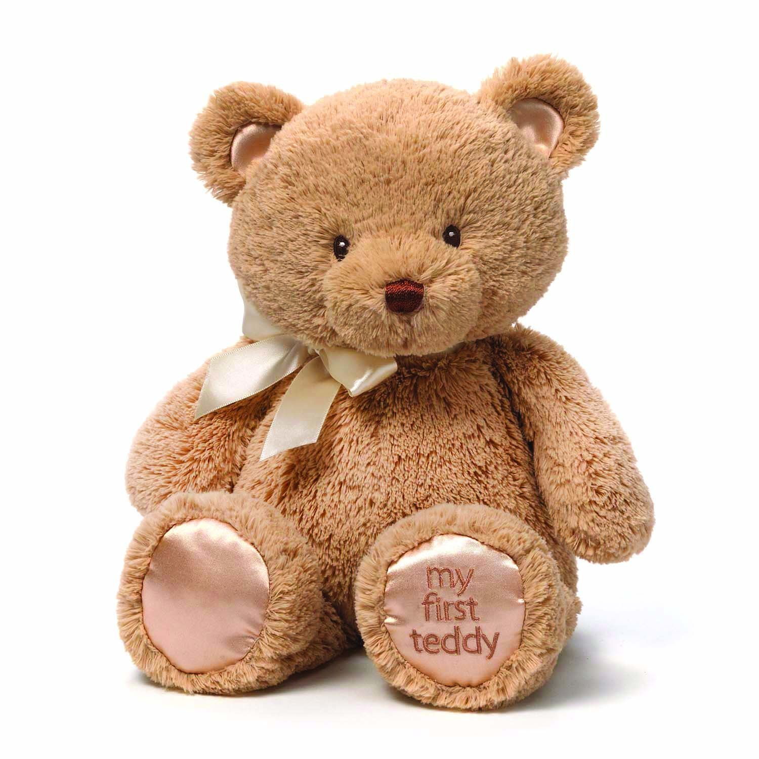 Gund My First Teddy Bear Baby 15 Inches Tan by Gund