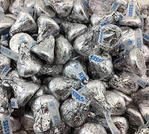 Hershey's Kisses, Milk Chocolate in Silver Foil (Pack of 2 Pound) - Hershey Kisses Halloween Recipes