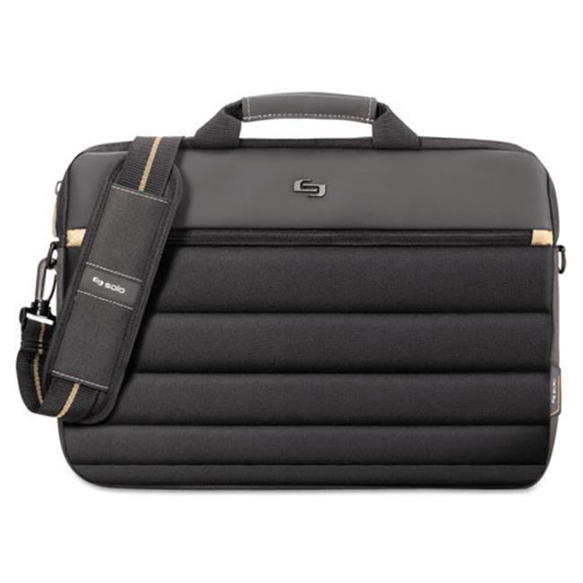 Us Luggage PRO1464 Pro Slim Briefcase - Black, 15.6 in.