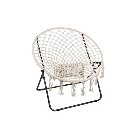 Mainstays Oversized Macrame Saucer Chair (Chelsea Saucer)