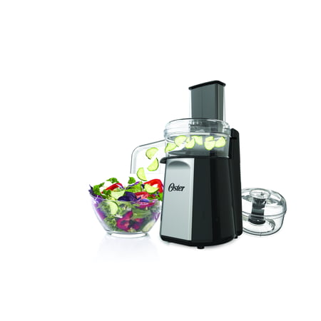 Oster 2-in-1 Salad Meal Prep and Food Processor, 4-Cup Capacity (FPSTFP4050)