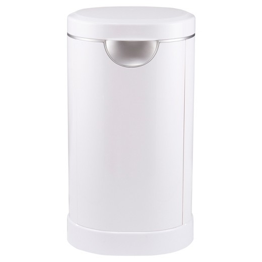 Munchkin Diaper Pail, Powered by Arm & Hammer, White