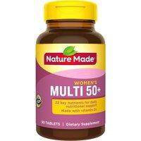 Nature Made Multi for Her 50+ Vitamin/Mineral Tablets 90 ea