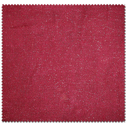 Textile Creations Home Decor Burlap Metallic Solids Burgundy Fabric, per Yard