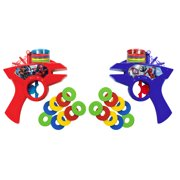 Marvel Spider-Man 2 Pack Kids Toy Foam Disc Shooters