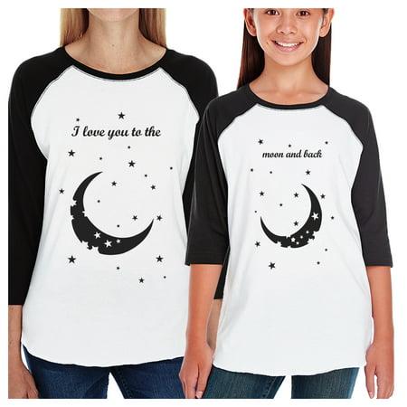 b562d481338e 365 Printing - Moon And Back Matching Mom and Kid Baseball Jerseys ...