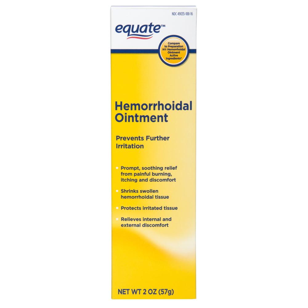 Equate Hemorrhoidal Ointment, 2 Oz