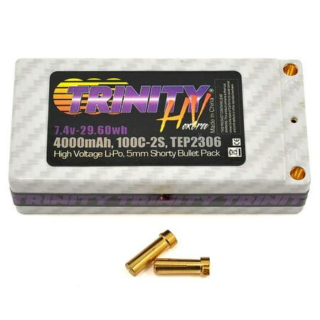 Trinity TRITEP2306 2S 7.4v 4000mah 100C High Voltage Shorty Pack