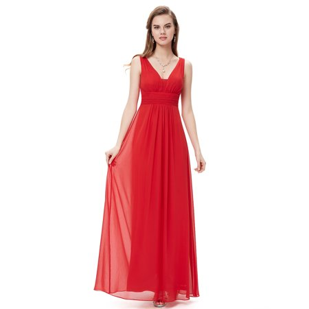 8ee0c476ba Ever-Pretty - Ever-Pretty Women s Plus Size Long Maxi Evening Dinner Party  Cocktail Formal Dresses for Women 8110 Red US 16 - Walmart.com