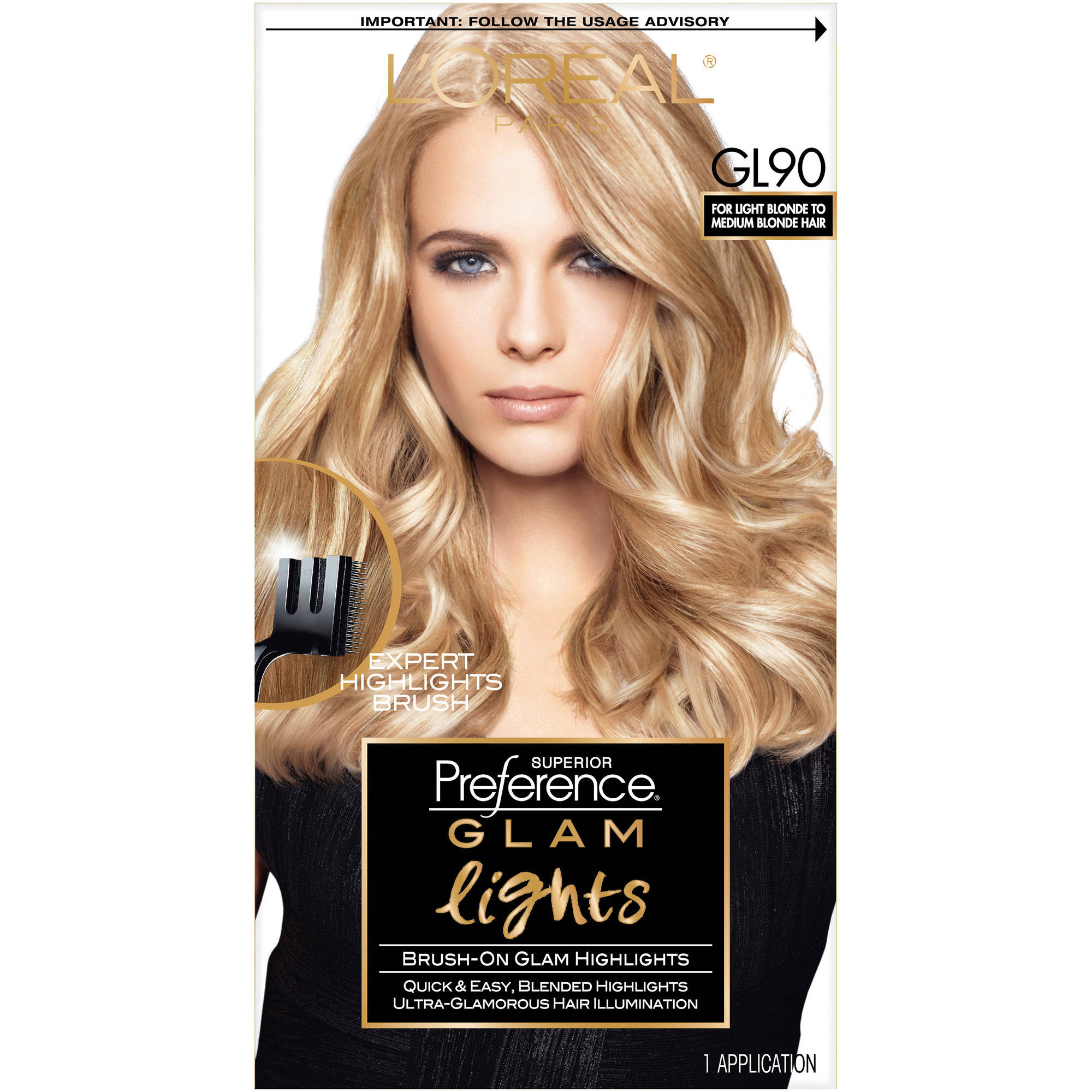 Loreal Paris Superior Preference Brush On Glam Highlights Walmart