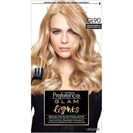 Loreal paris superior preference brush on glam highlights walmart loreal paris superior preference brush on glam highlights solutioingenieria Images