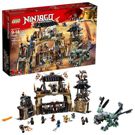 LEGO Ninjago Dragon Pit70655 (Lego Ninjago The Temple Of Light Set)
