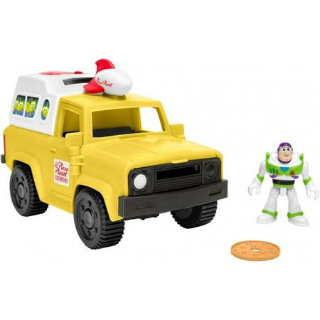 Imaginext Disney Pixar Toy Story Pizza Planet Truck & Buzz Set