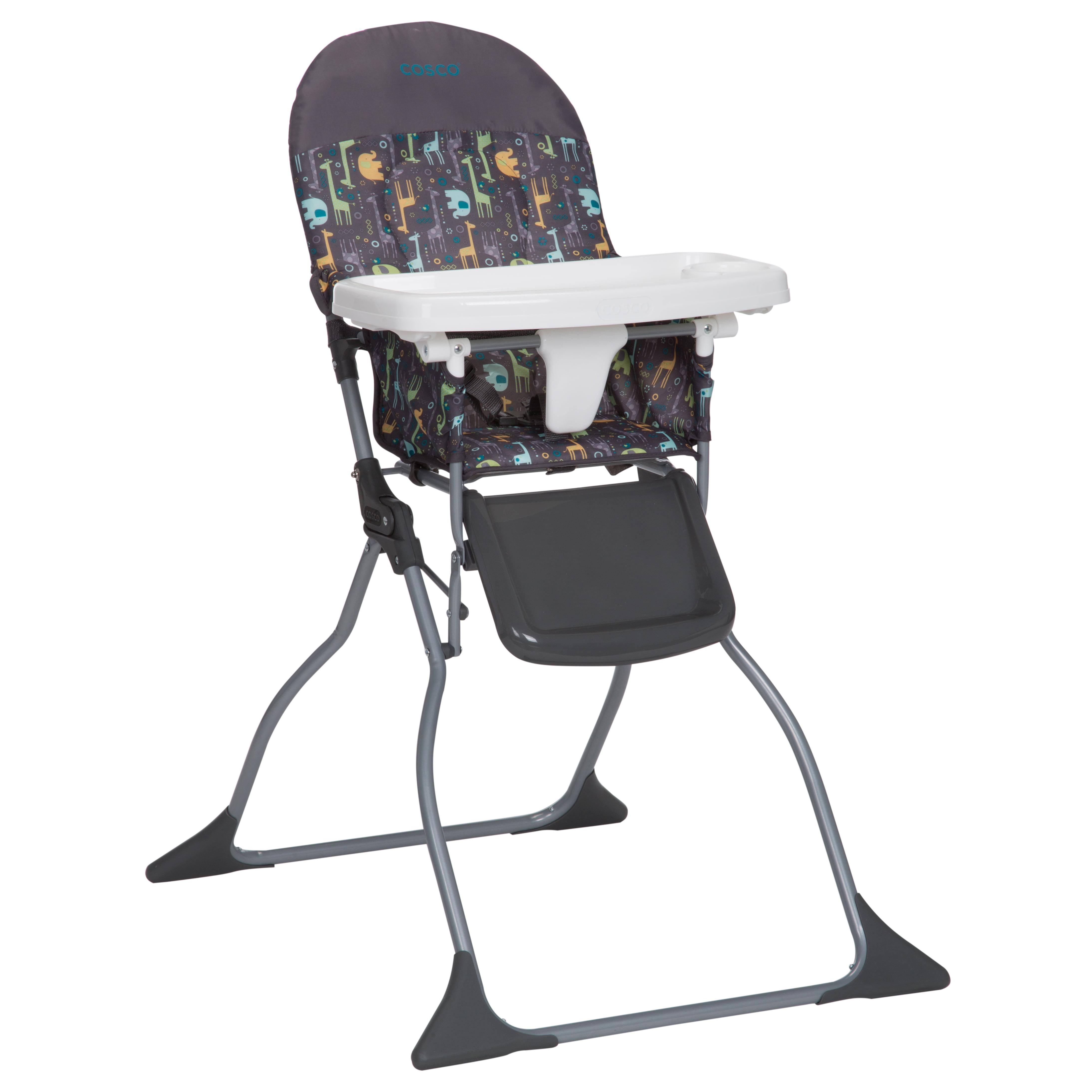 Cosco Simple Fold Full Size High Chair With Adjustable Tray Zuri Walmart Com Walmart Com