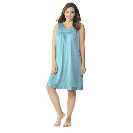 55211fbac6 Vanity Fair - Vanity Fair Women s Coloratura Sleepwear Short Gown 30107 -  Walmart.com