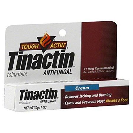 Pieds dur Actine Tinactin Athletic Crème - 1 oz - Lot de 6