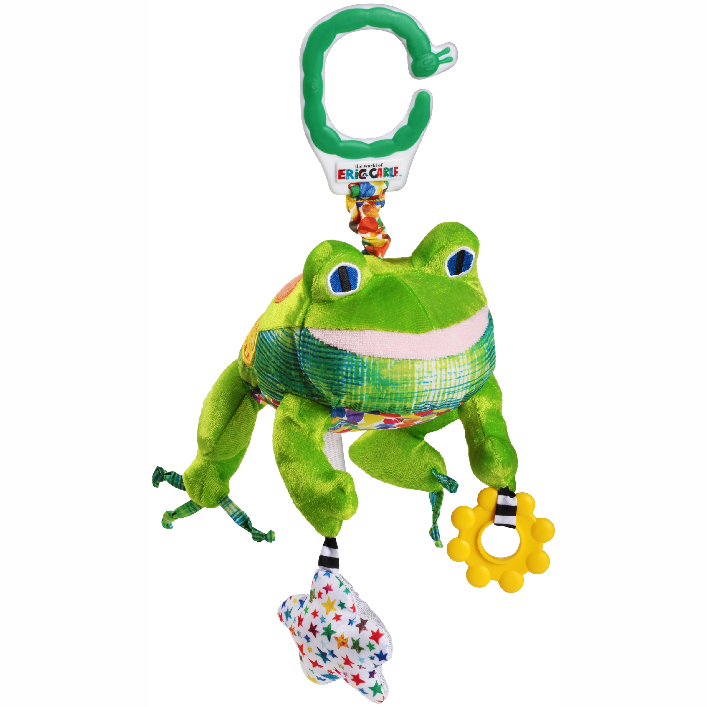 The World of Eric Carle™ Frog Animal Developmental Toy - Walmart.com