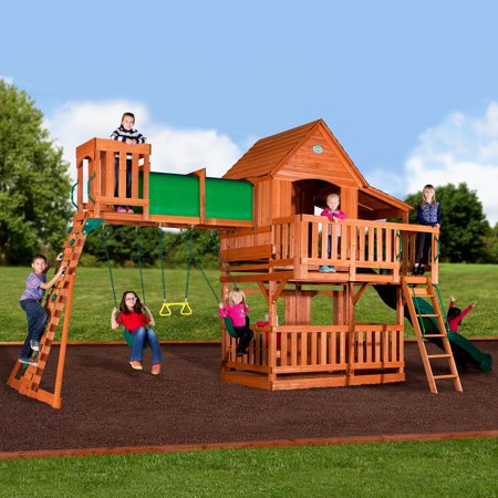 Backyard Discovery Woodridge Ii Swing