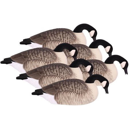 Hard Core Brands Canada Goose Shell Decoys, Pro Series, 6 Pack, Multiple Types (Best Goose Decoys For The Money)