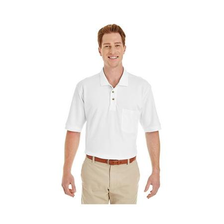 Foundation Sleeve - Harriton Men's Foundation 100% Long-Sleeve Twill Shirt Teflon™, Style M200P