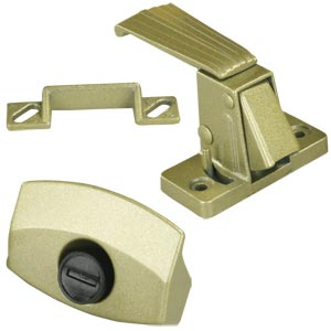 Gold JR Products 20515 Non-Locking Privacy Latch