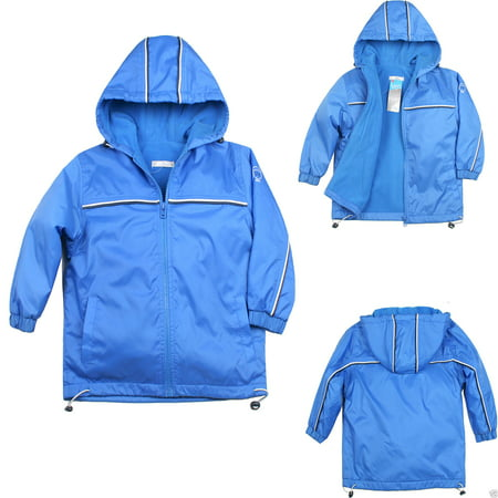 Altotux Baby Toddler Kid Child Boy Cozy Fleece Jacket Coat Hooded Blue 1-6 Yrs old - Baby T Bird Jacket