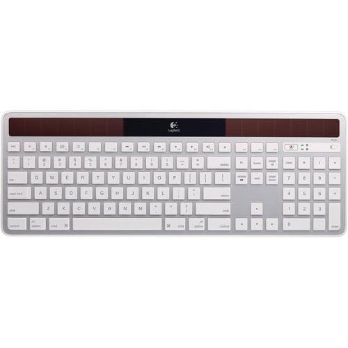 Logitech K750 Wireless Solar Keyboard, White
