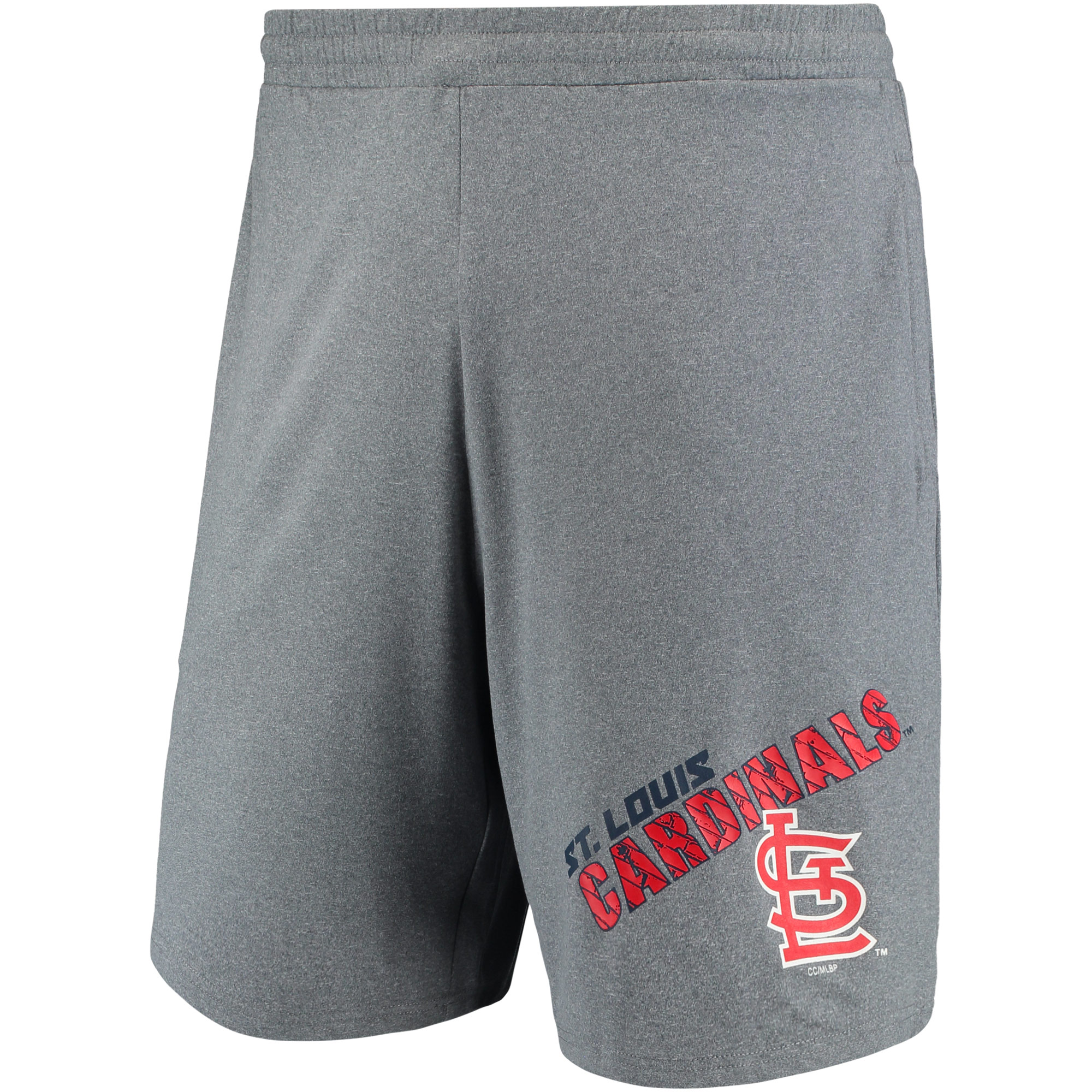 St. Louis Cardinals Concepts Sport Tactic Jam Shorts - Gray