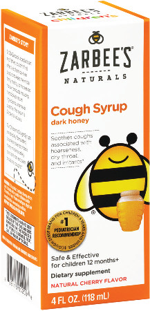 Zarbee S Naturals Children S Cough Syrup With Dark Honey