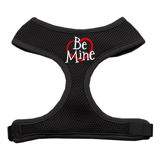 Be Mine Soft Mesh Harnesses Black Extra Large