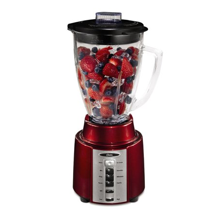 Oster 8 Speed 450 Watt All Metal Drive 6 Cup Blender, Red | BCCG08-RR0-027