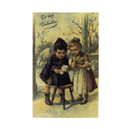 To My Valentine 8x10 Poster LITTLE GIRLS VINTAGE KIDS OLD SCHOOL ADORABLE SUNDAY BEST DRESS UP KIDS PLAY - Best Buy Hours On Sunday