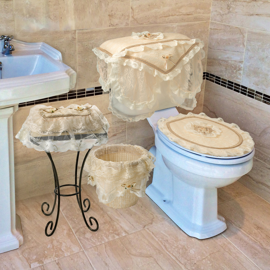 Luxurious And Elegant - Eden Lace Style Bethroom Collection