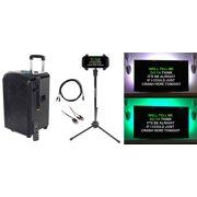 Rockville ROCKnGo Karaoke Home Quarantine Family Activity Machine w/Wireless Mic