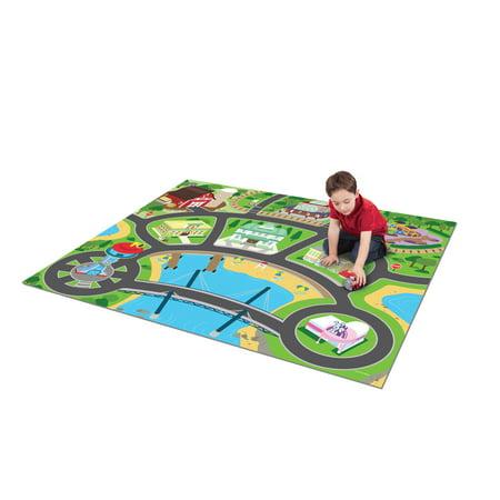 Small Mega Mat (TCG Toys Paw Patrol Jumbo Mega Mat Play Mat w/ 2 Bonus Vehicles)