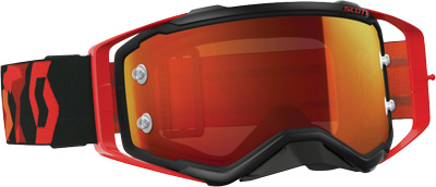 SCOTT Prospect Goggles Red White w Blue Chrome Lens 262589-1005278 by