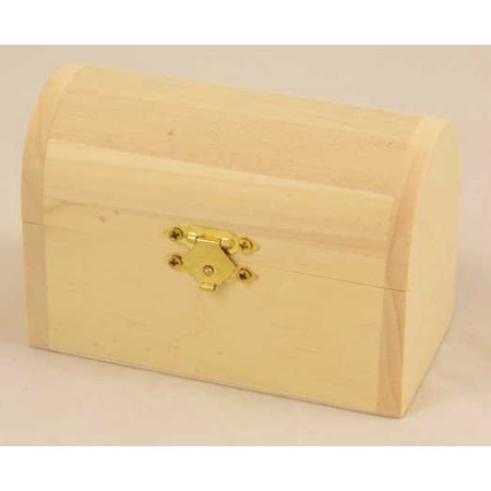1 Pc, Small Curved Lid Chest 4.75