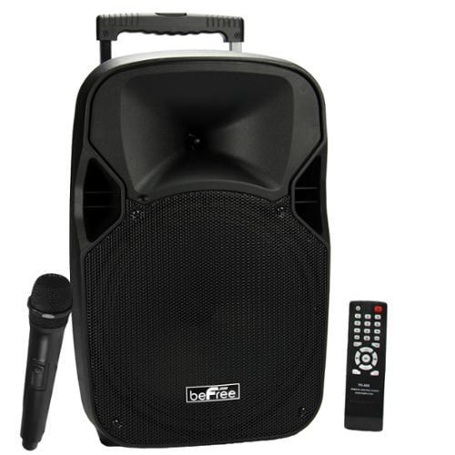 "beFree Sound 12"" Bluetooth Portable Speaker with USB/TF/FM Radio700W"