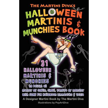 Halloween Martini Corner (The Martini Diva's Halloween Martinis & Munchies)