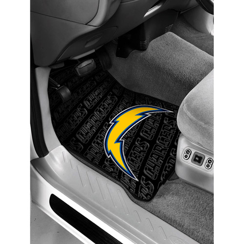 NFL - San Diego Chargers Floor Mats - Set of 2