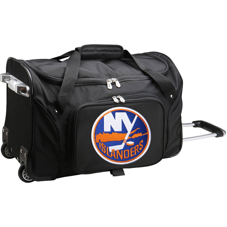 "Denco NHL 22"" Rolling Duffel, New York Islanders by Mojo Licensing"