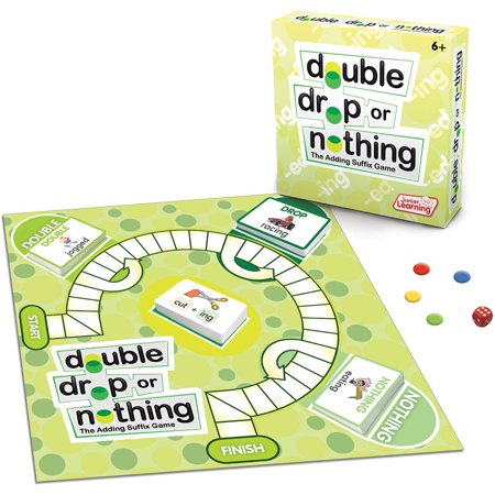 Junior Learning Double, Drop or Nothing Board Game](Drop Game)