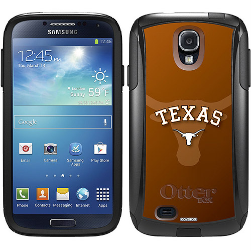 University of Texas Watermark Design on OtterBox Commuter Series Case for Samsung Galaxy S4