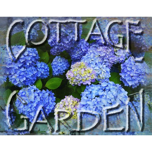 Graffitee Studios Floral & Nature Cottage Garden Graphic Art on Wrapped Canvas