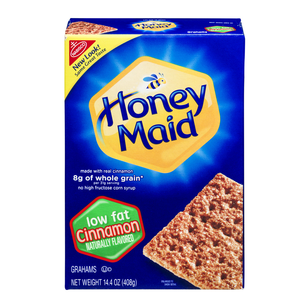 Nabisco Honey Maid Cinnamon Grahams Low Fat, 14.4 OZ