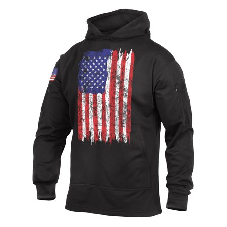 Rothco U.S. Flag Concealed Carry Hoodie