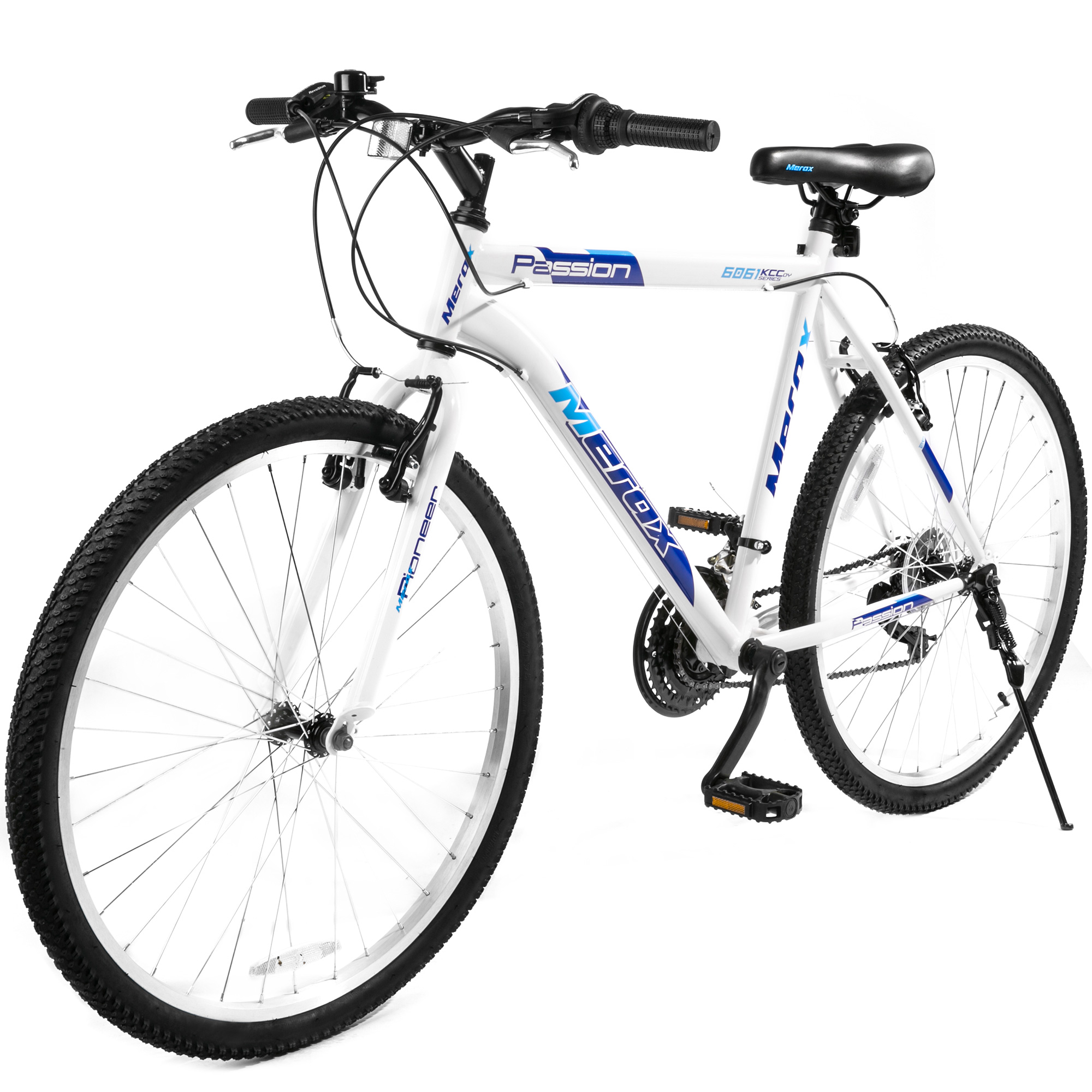 "Merax 26"" Pioneer Aluminum Frame Mountain Bike, Multiple Colors"