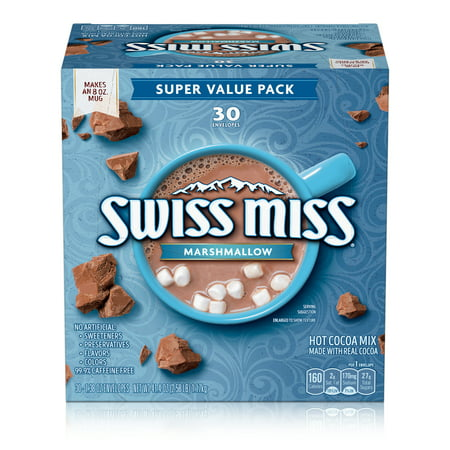 Swiss Miss Marshmallow Hot Cocoa Mix (30) 1.38 Ounce Envelopes