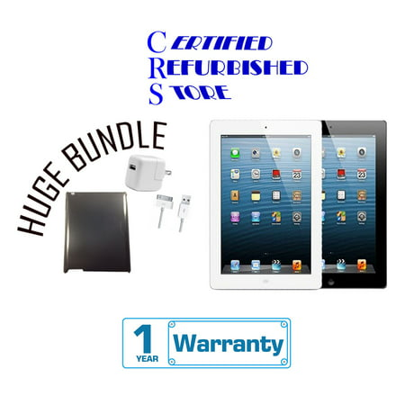 Refurbished Apple iPad 4 16GB,32GB,64GB,128GB - Wifi   Bundle includes Case & 1-Year Warranty ()