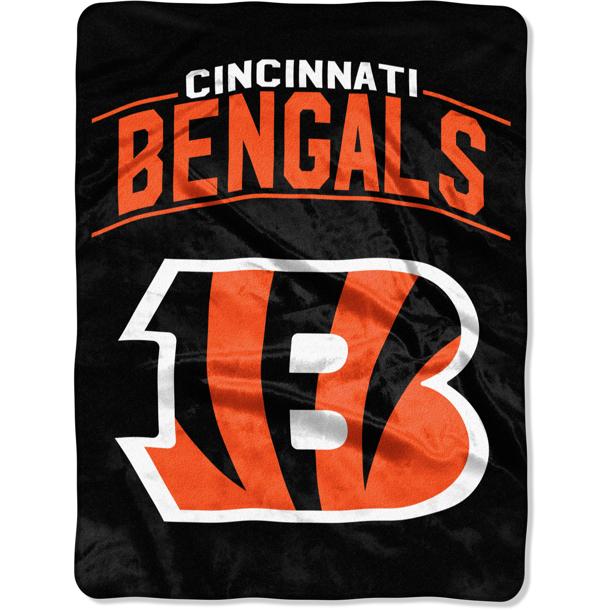 "Cincinnati Bengals The Northwest Company Strong Side 60"" x 80"" Raschel Throw Blanket - No Size"